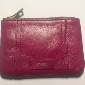 Fossil key holder/ key holding pouch